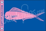 Lady Mahi Mahi Decal