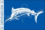 White Marlin Decal
