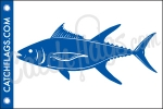 Yellowfin Tuna Decal
